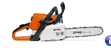 Mid-size homeowner saw that is excellent for cutting wood around the yard. It includes many of the same features as our professional models, including STIHL Quickstop inertia chain brake, Master Control Lever and anti-vibration system.