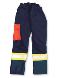 Blue Hi Viz Big K brand bucking pants