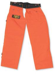Orange Big K chaps