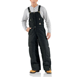 Black Carhartt Bib Pants