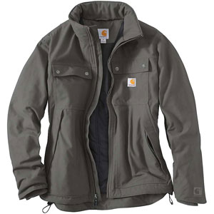Grey Carhartt Men's Casual Jacket