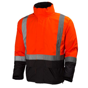 Orange Hi Viz Helly Hansen jacket