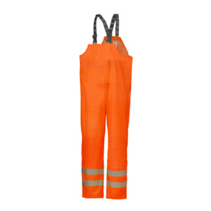Orange Helly Hanset Narvik bib