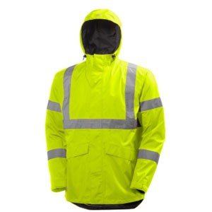 Yellow Hi Viz Helly Hansen jacket