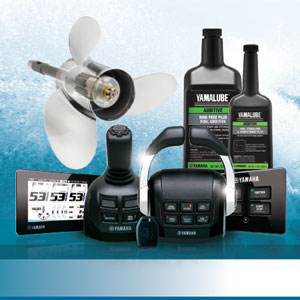 Selection of Yamaha Marine Supplies