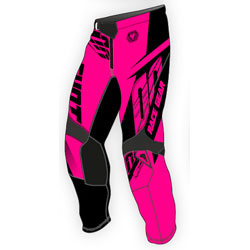 Pink Motovan motocycle pants