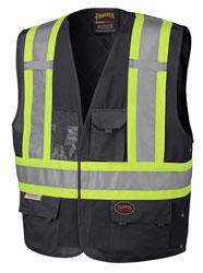 Black Pioneer Hi Viz vest