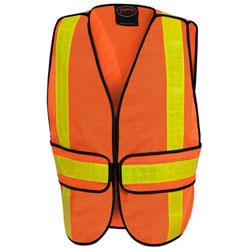 Orange Pioneer Hi Viz vest