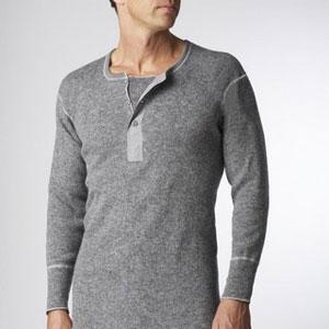 Stanfields henley shirt
