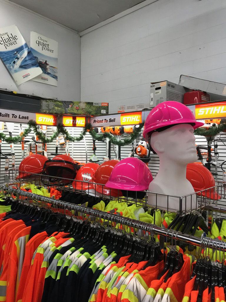 Hard hats and Hi-Viz gear