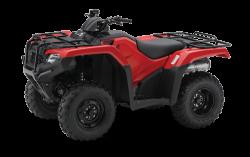 Red Honda TRX420 ATV
