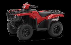 Red Honda TRX500 ATV