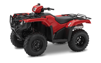 Red Honda TRX500 ATV