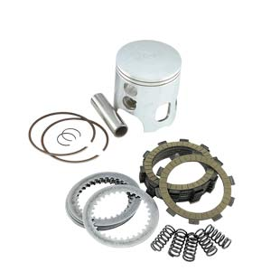 Selection of Motovan bike parts