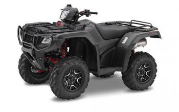 Black Honda TRX500 Rubicon ATV