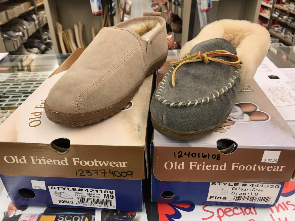 Old Friend slippers
