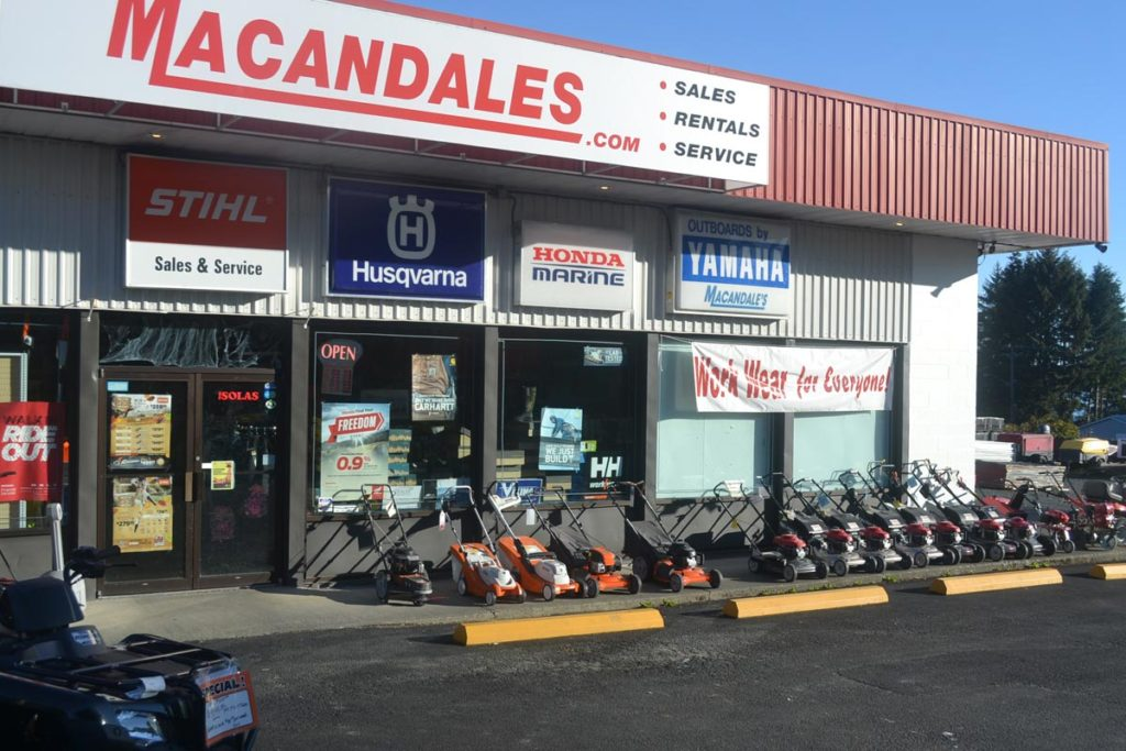 Macandales Store front