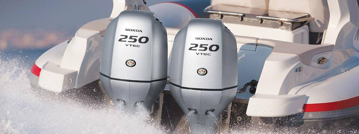 Twin 250hp Honda Vtec engines